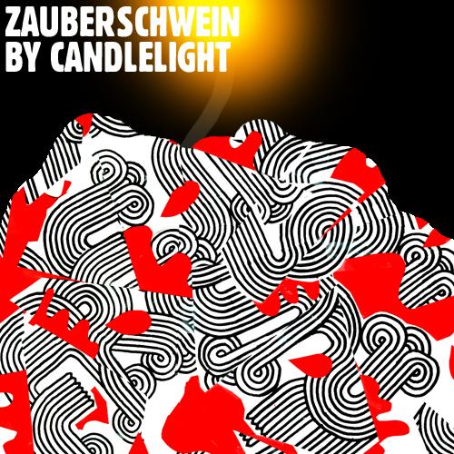 Zauberschwein by candlelight