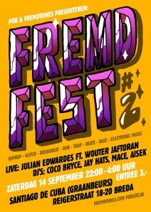FREMDFEST_#2_flyer